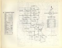Index Map, Marinette County 1954